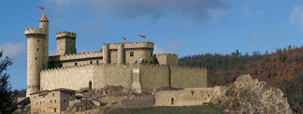 château Haute-Loire